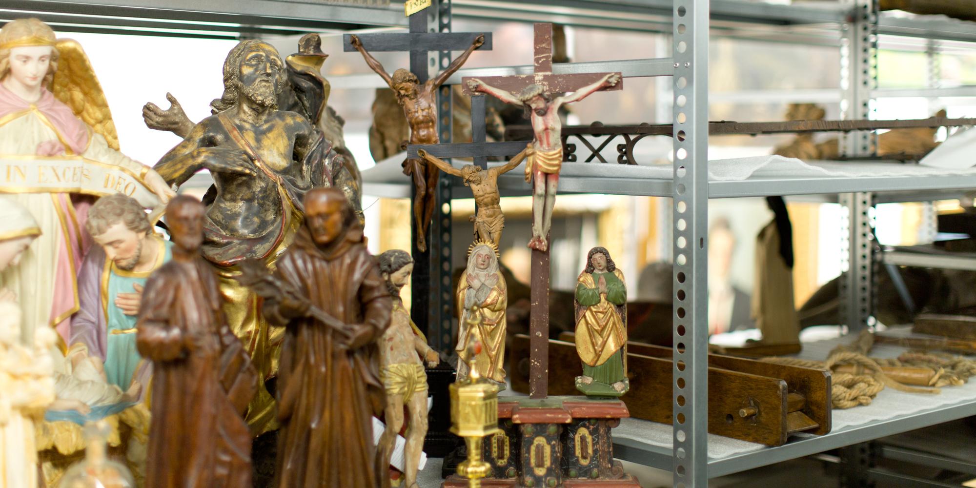 Historisches Museum Thurgau Heiligenfiguren