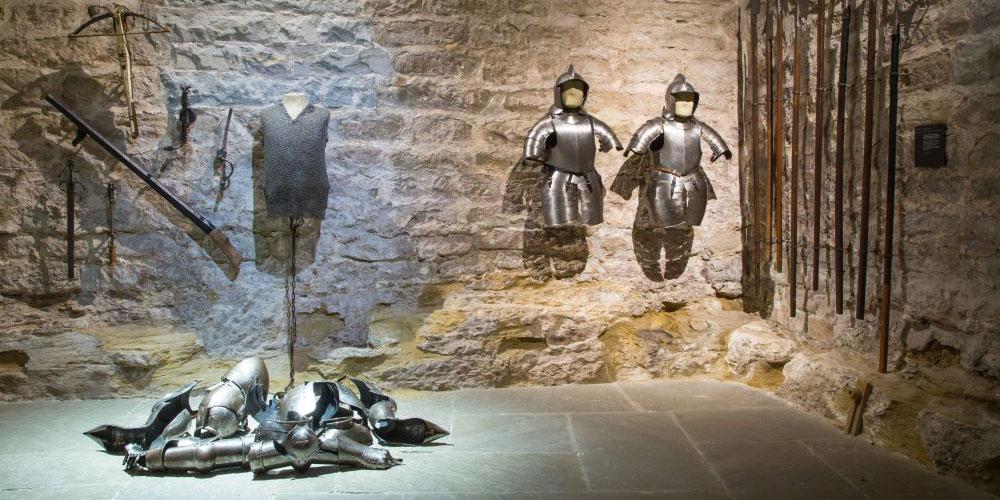 Das mittelalterliche Ritterleben hat im Schloss Frauenfeld Spuren hinterlassen.